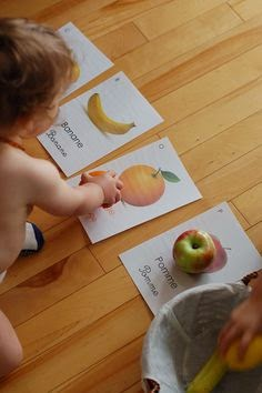 Actividade correspondencia frutas